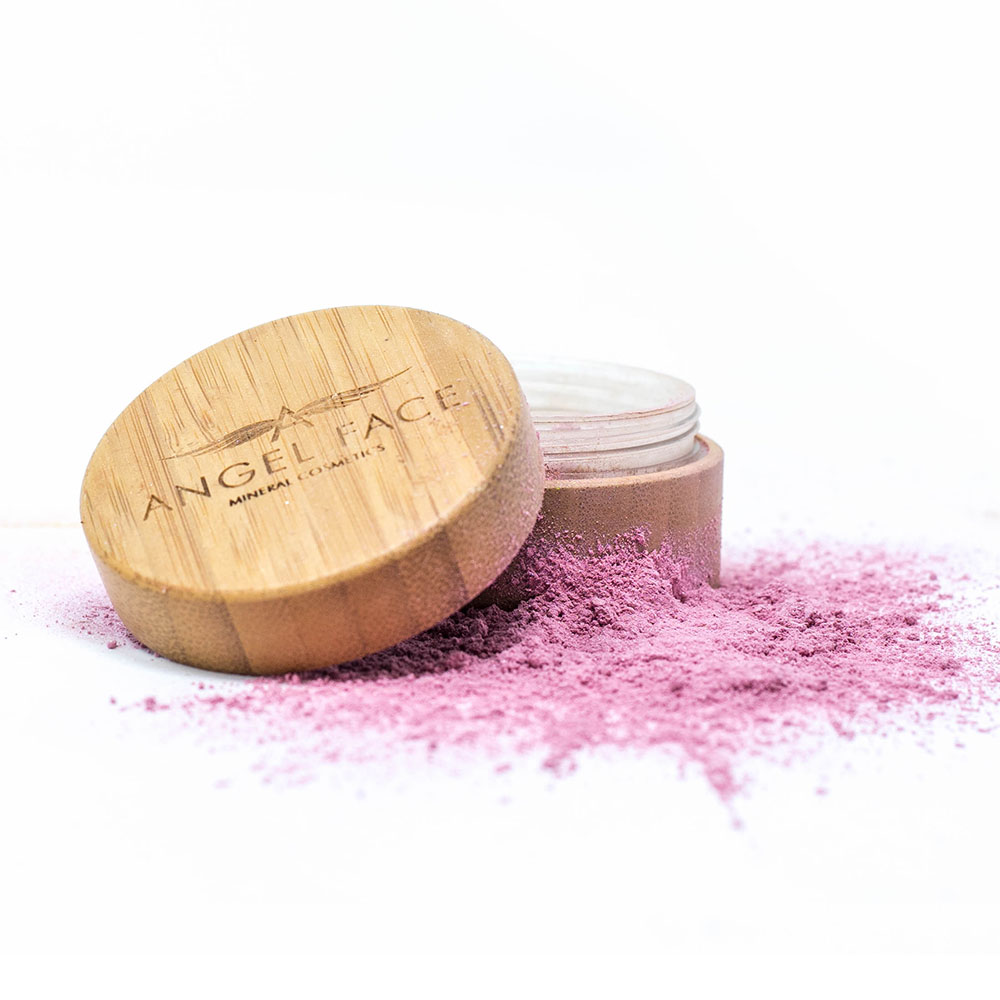 Mineral Blusher Pink - Pots For Life - Angel Face Mineral Cosmetics