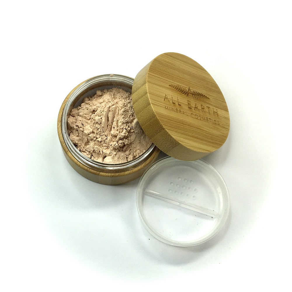 All Earth Mineral Cosmetics Bamboo Finishing Powder