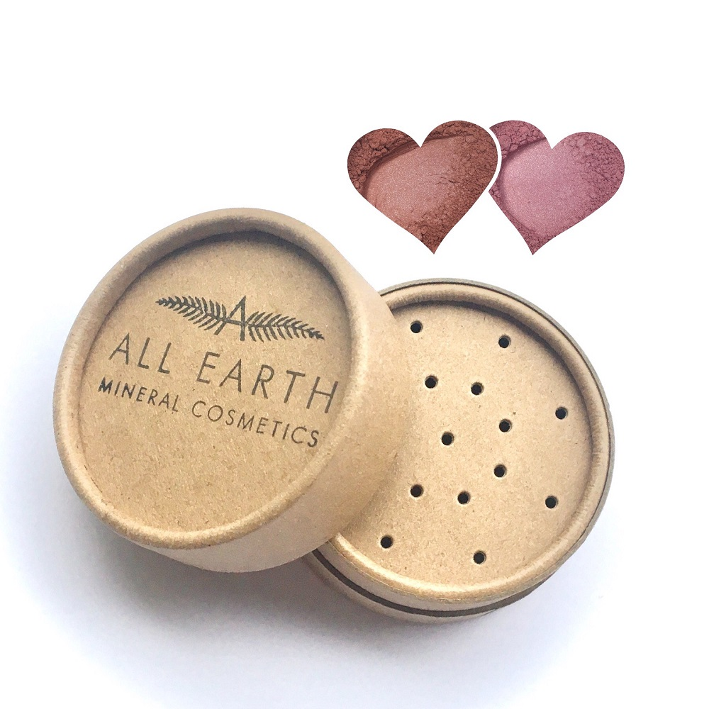 All Earth Mineral Cosmetics - Eco - Blushers