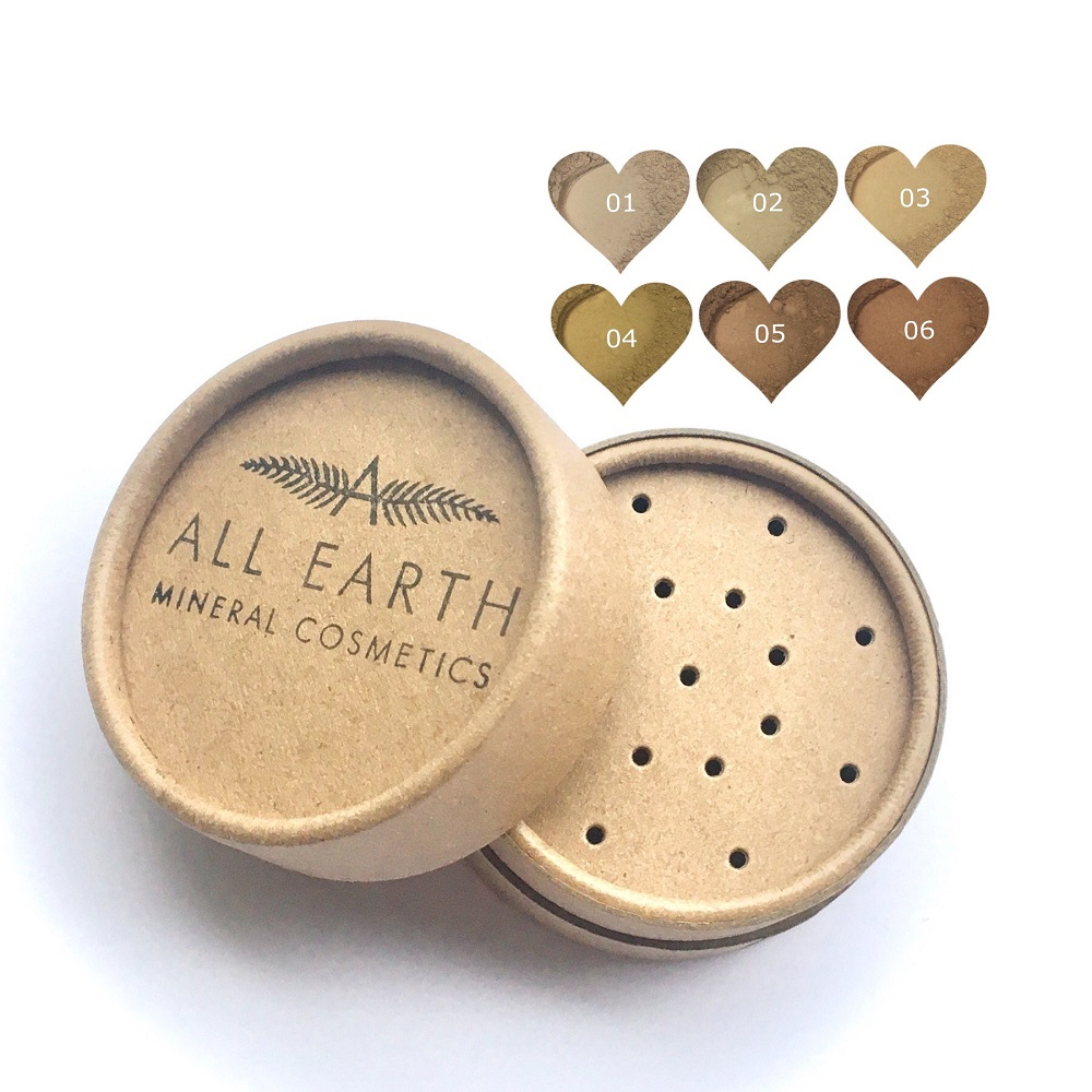 All Earth Mineral Cosmetics - Eco - Foundations