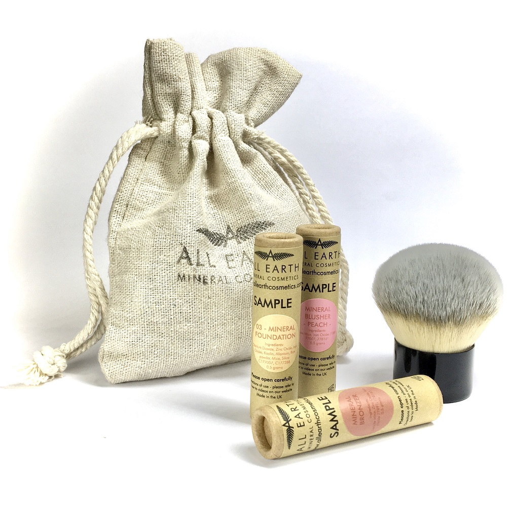 All Earth Mineral Cosmetics - Sample Kit